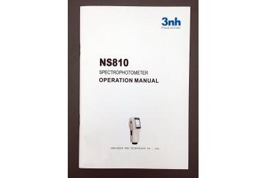 NS810分光测色仪说明书